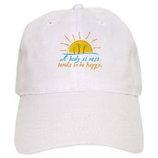 A Body at Rest Baseball Cap