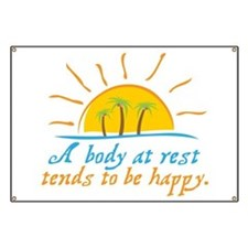 A Body at Rest Banner