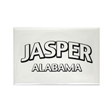 Jasper Alabama Rectangle Magnet