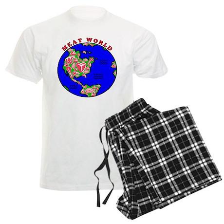 Meat World Men's Light Pajamas
