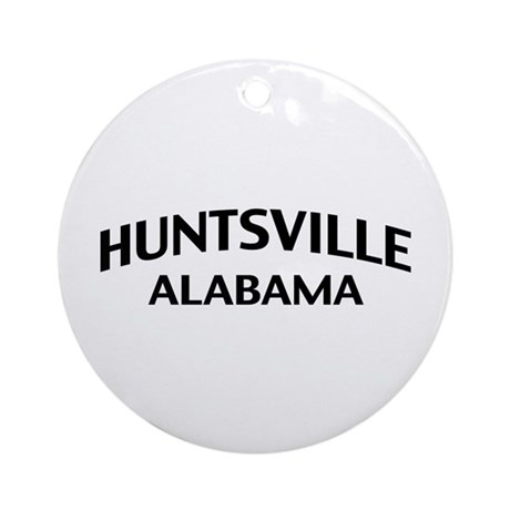 Huntsville Alabama Ornament (Round)
