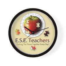 ESE Teachers (Autism) Wall Clock
