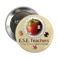 "ESE Teachers (Autism) 2.25"" Button (10 pack)"