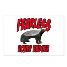 Fearless Honey Badger Postcards (Package of 8)