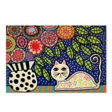 Cute Outsider art Postcards (Package of 8)