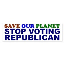 SAVE OUR PLANET Bumper Bumper Sticker