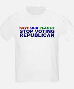 SAVE OUR PLANET Kids T-Shirt