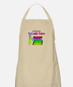 Retired Teacher IV Apron