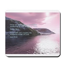 Job 37:14 Mousepad
