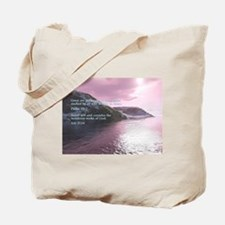 Job 37:14 Tote Bag