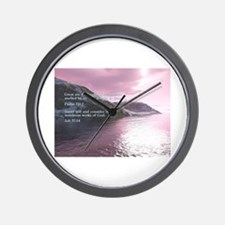 Job 37:14 Wall Clock