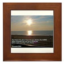 Jeremiah 29:11 Framed Tile