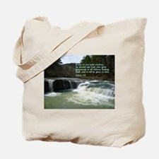 James 1:5 Tote Bag