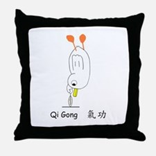Qi Gong Throw Pillow