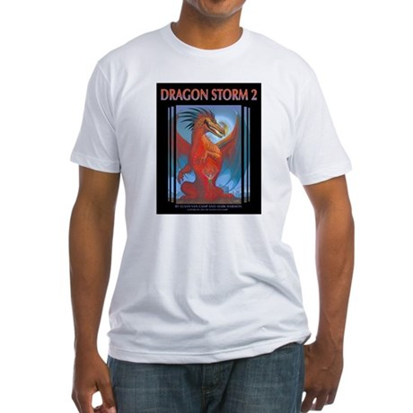 Dragon Storm 2 Fitted T-Shirt