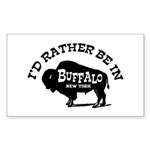 Buffalo New York Sticker (Rectangle)