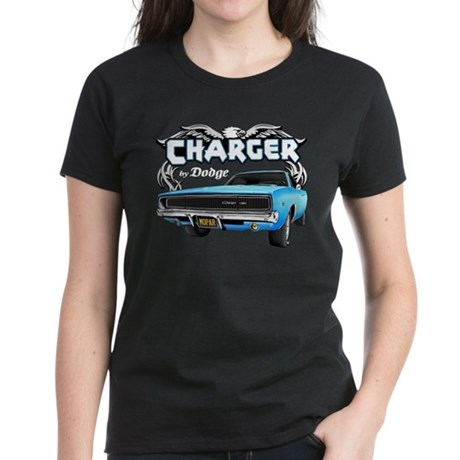 Charger - By Dodge Women's Dark T-Shirt