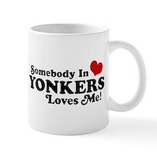 Somebody In Yonkers Loves Me Mug
