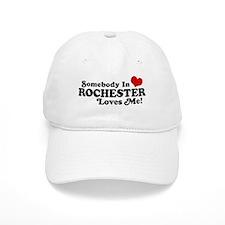 Somebody In Rochester Loves Me Baseball Cap