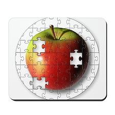 Puzzle Apple (ESE Teacher) Mousepad