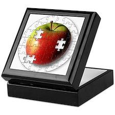 Puzzle Apple (ESE Teacher) Keepsake Box