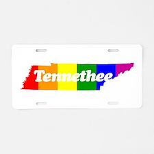 Tennethee Aluminum License Plate