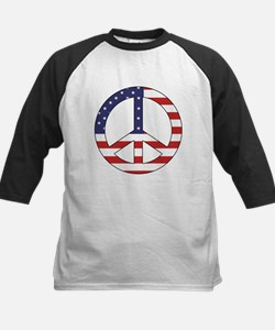 Peace Sign (American Flag) Tee