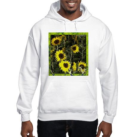 Sunflowers, colorful, Hooded Sweatshirt