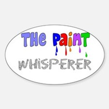 The Whisperer Occupations Sticker (Oval)