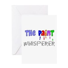 The Whisperer Occupations Greeting Card