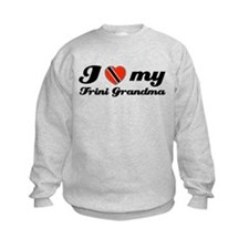 i love my Trini grandmother Sweatshirt