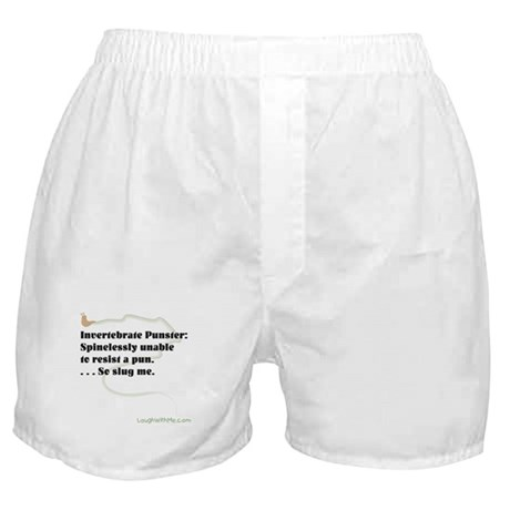Invertebrate Punster Boxer Shorts