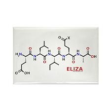 Eliza molecularshirts.com Rectangle Magnet