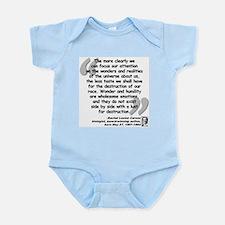 Carson Wonder Quote Infant Bodysuit