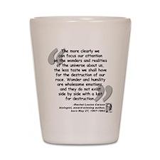 Carson Wonder Quote Shot Glass