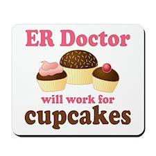 Funny ER doctor Mousepad