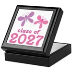 Class of 2027 Girls Graduation Keepsake Box