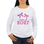Class of 2027 Girls Graduation Women's Long Sleeve