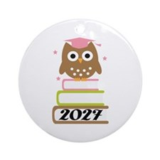 2027 Top Graduation Gifts Ornament (Round)