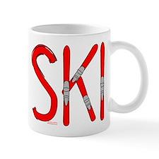 Ski Skis Mug