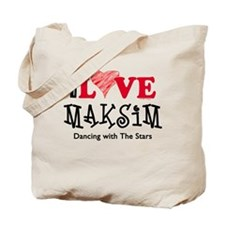 I Love Maksim Tote Bag
