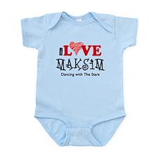 I Love Maksim Infant Bodysuit