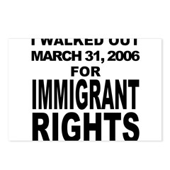 Immigrant Rights March Postcards (Package of 8)