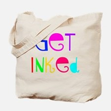 Get Inked (colorful) Tote Bag