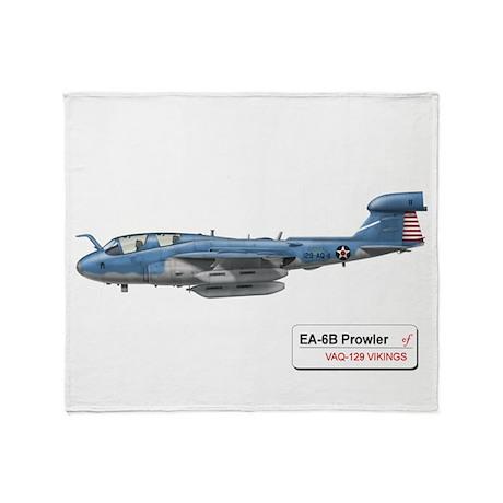 EA-6B Prowler Throw Blanket