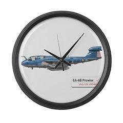 EA-6B Prowler Large Wall Clock