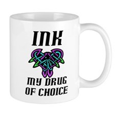 Drug of choice (w/colors) Mug