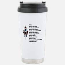 Your Beliefs Stainless Steel Travel Mug