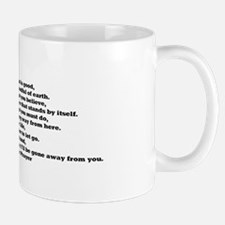 Your Beliefs Mug
