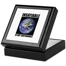 Insatiable Keepsake Box